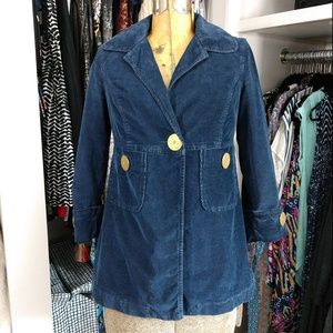 7 For All Mankind Corduroy Jacket/Coat Button